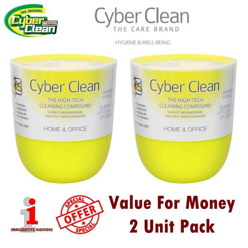 Cyber Clean Home and Office Cup 160g x 2 Unit High-Tech Cleaning Compound Malaysia