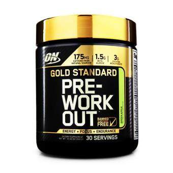 Optimum Nutrition Gold Standard Pre-Workout, Green Apple, 30 Servings