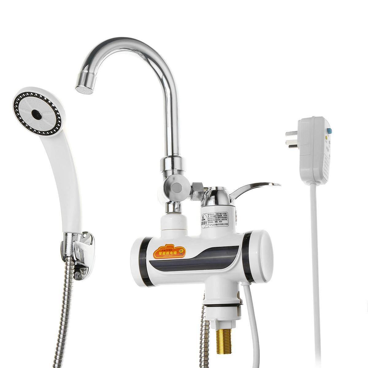 LED Instant Elektrik Air Heater Pemanasan Cepat Faucet Seksi & Cold Mixer Keran Dapur-Internasional