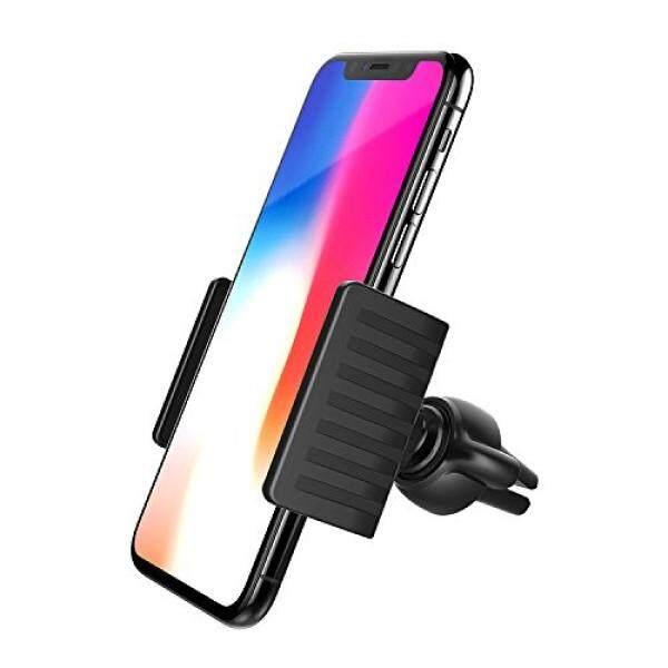 APPS2Car Udara Ventilasi Mobil Telepon Dudukan dengan Memutar Sekrup Kacang Dudukan Base untuk iPhone X 8 PLUS 7 6 6 S PLUS 5 S Samsung Galaksi S8 S6/S7 Sisi Plus S5 Note 5 4 3 LG G5 Perhubungan 6 P-Internasional