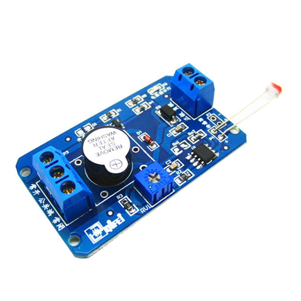 Miracle Bersinar Bel Alarm Modul Resistor Foto Modul Sensor Fotosensitif 5-12 V-Internasional