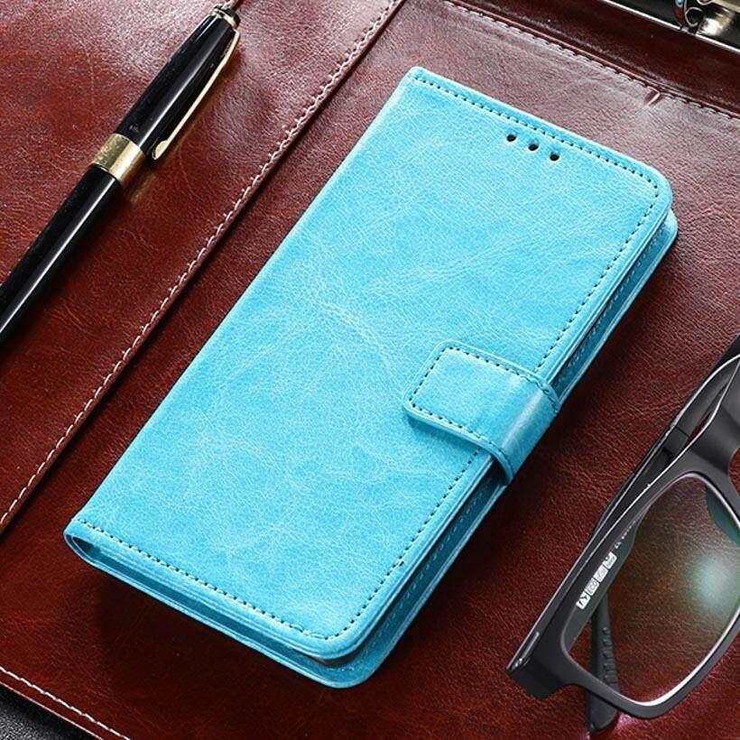 Taoyunxi Telepon Kulit PU Case S For Samsung Galaxy  A8 + A8 Plus (2018) a730F/DS (Global Dual SIM) 6.0 Sarung Pelindung Inci Flip Pelindung Dompet Anti Debu Sarung Selular