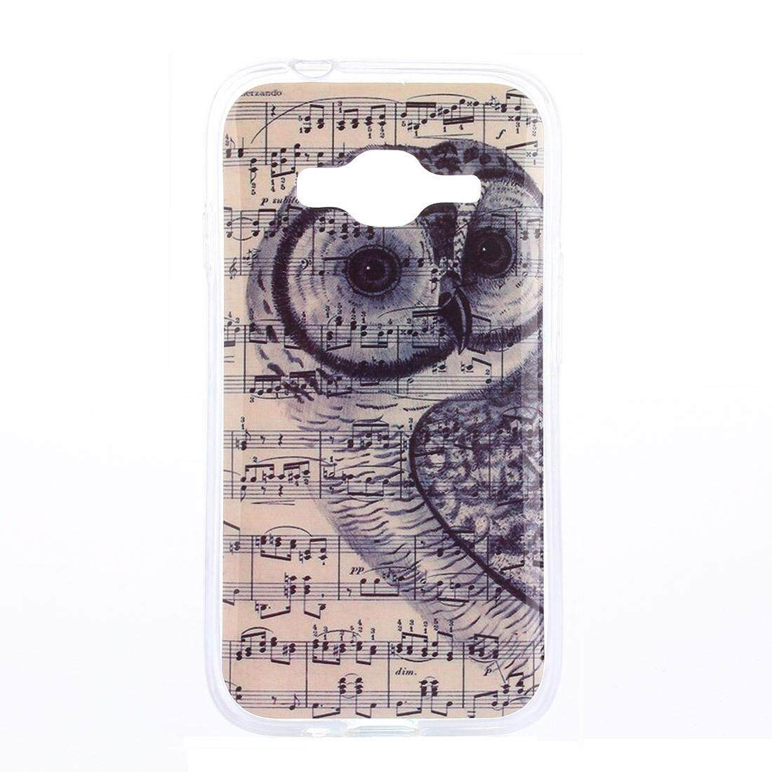 Features For Samsung Galaxy J1 Mini Prime Sm J106 Note And Owl V2 Gold Detail Gambar Pattern Tpu Back Case Terbaru