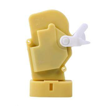 Duoqiao Auto Car 6 Pins Front Right Door Lock Actuator For Toyota Echo  Scion Lexus GS300 GS430(Yellow)