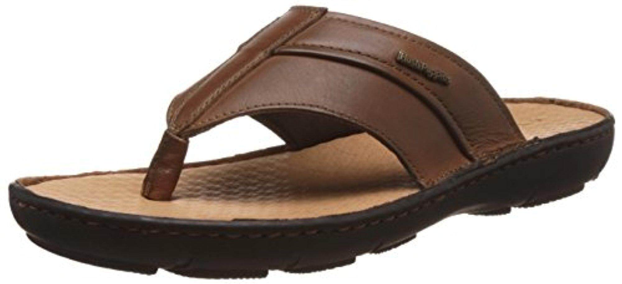 e523f35d31 Hush Puppies Men s Track Tan light brown Leather Athletic   Outdoor Sandals  - 7 UK