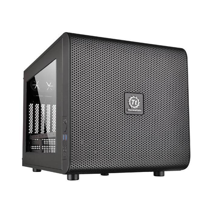 Thermaltake Core V21 Mid Tower mATX Case - Black Malaysia