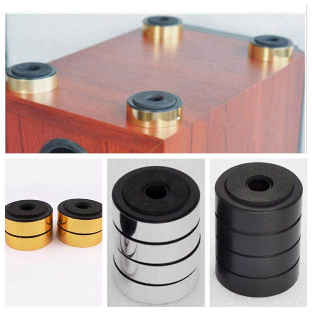 4pcs 48mm Feet Mats Amplifier Speaker Isolation HiFi Stand Pad Audio Equipment QDD9255 - intl