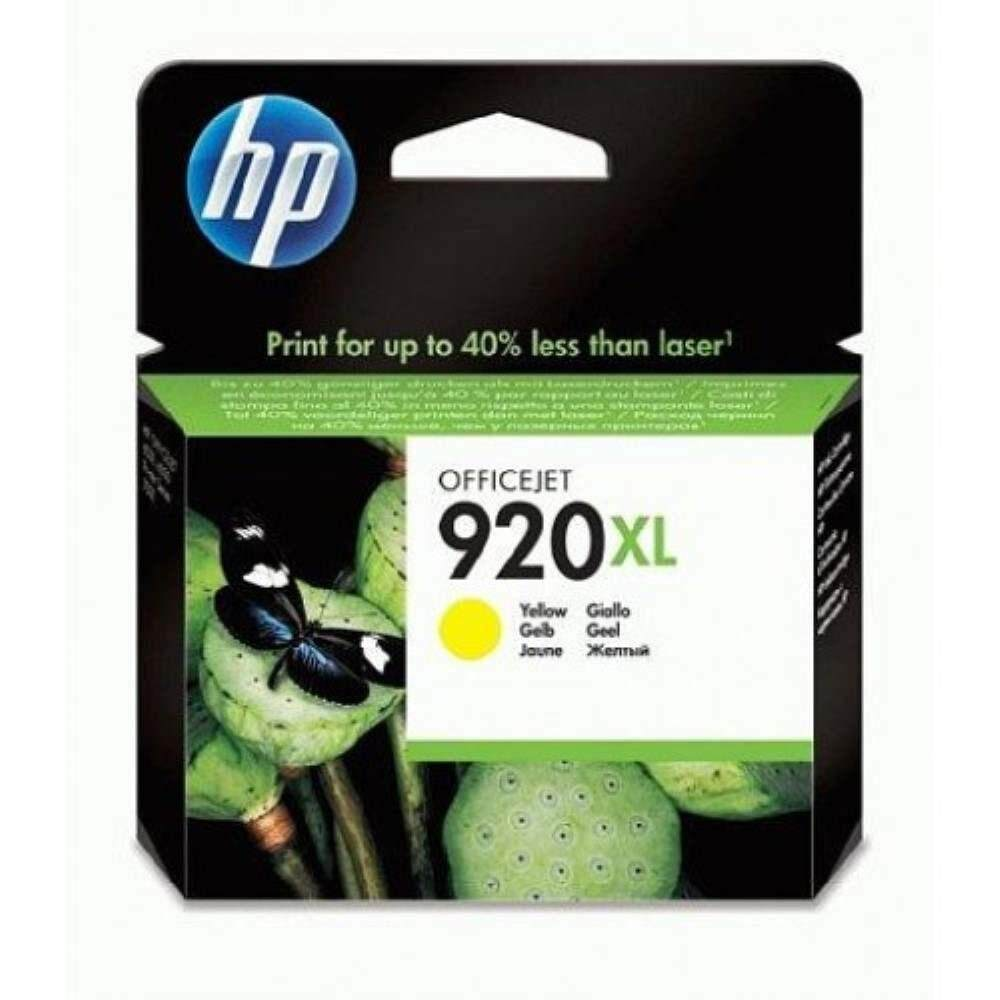 HP 920XL Yellow Officejet Ink Cartridge (CD974AA)