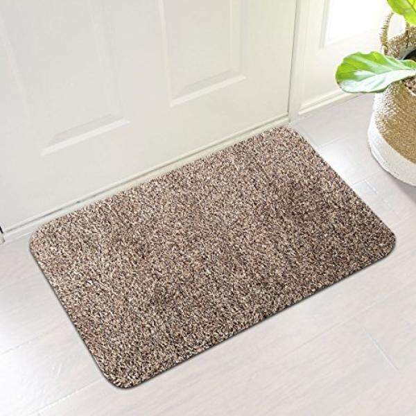 Indoor super absorbs mud doormat latex backing non slip door mat for small front door inside