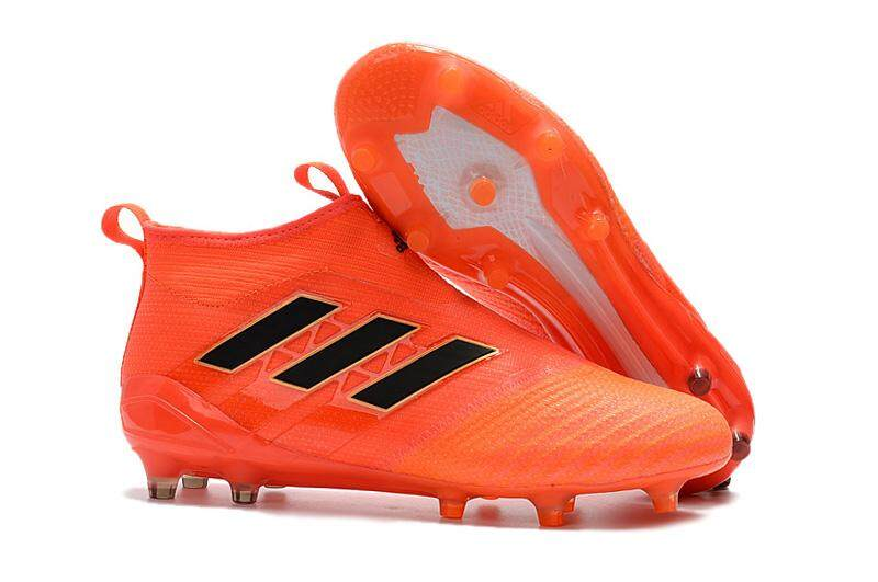 Baru Arrival Sepatu Sepak Bola Pria Superfly Sepatu Sepak Bola ACE 17 + Purecontrol FG Berlian Asli Latihan-Internasional