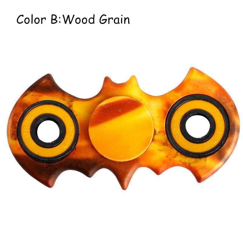 Colourful Camouflage Batman Style Figit Fidget Hand Spinner EDC Stocking Stuffer #3