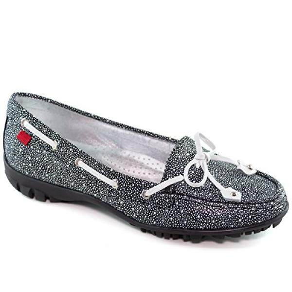 Marc Joseph New York Womens Fashion Shoes Cypress Luxury Cielo Black With Tie Bow Moccassin By 15store.