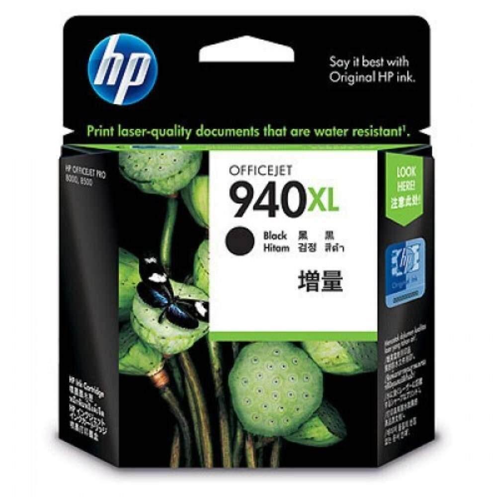 HP 940XL Black Officejet Ink Cartridge (C4906AA)