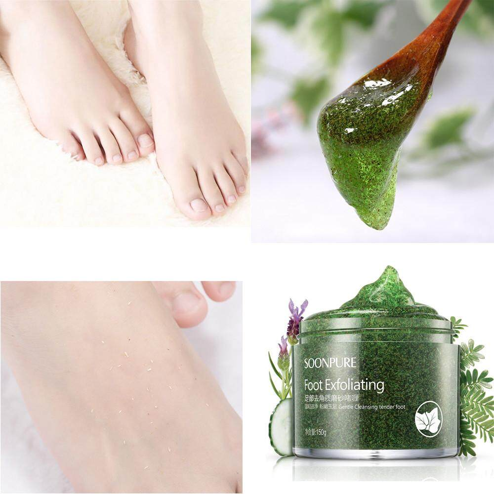 SOON PURE Exfoliating Feet Scrub Skin Peeling Calluses Beauty Foot Care CreamFinleyshop - intl