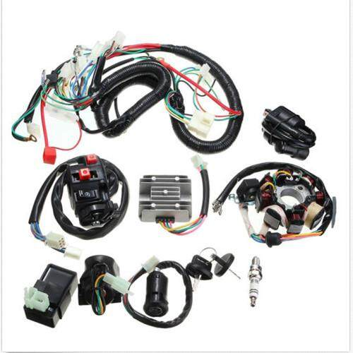 automotive wiring for automotive harness online brands full durable wiring harness wire loom cdi stator suit for atv quad 150 200