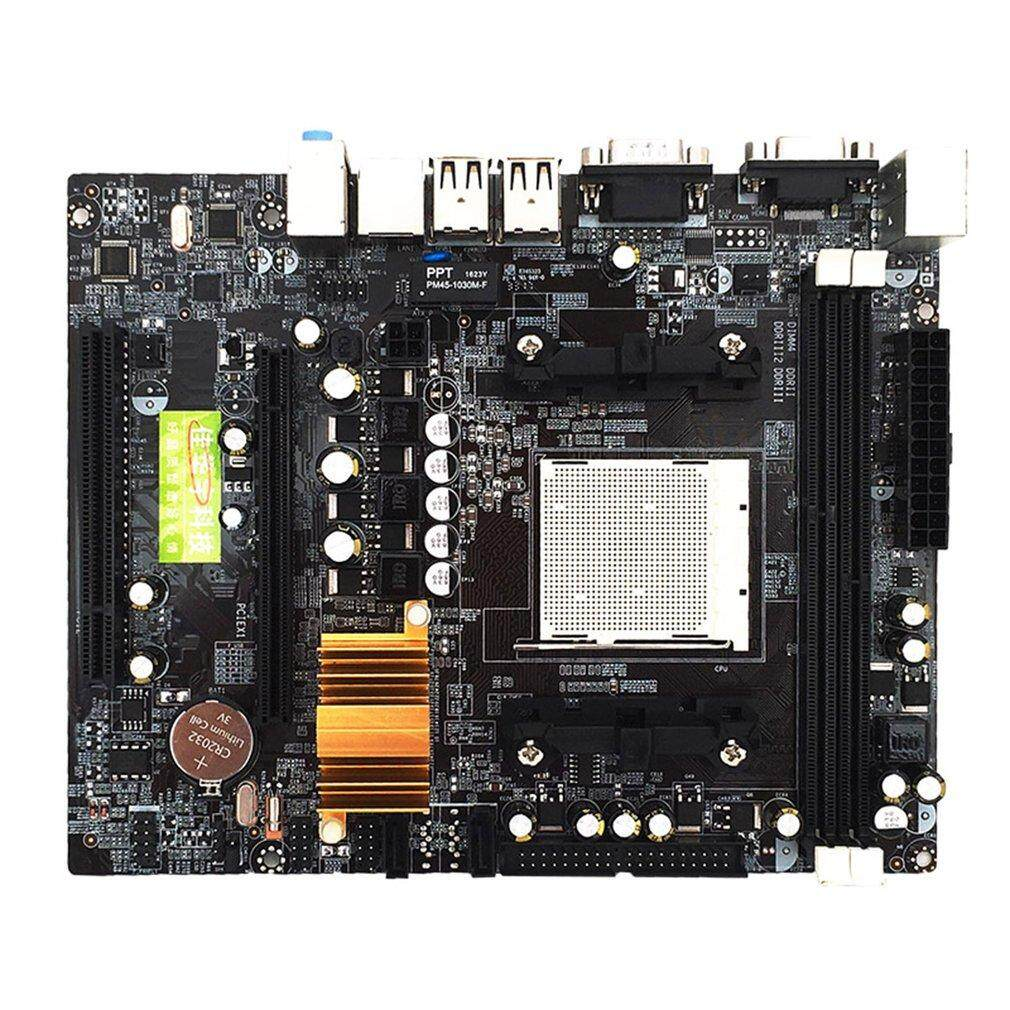 Allwin N68 C61 Desktop Computer Motherboard Support for AM2 AM3 CPU DDR2+DDR3 Memory - intl