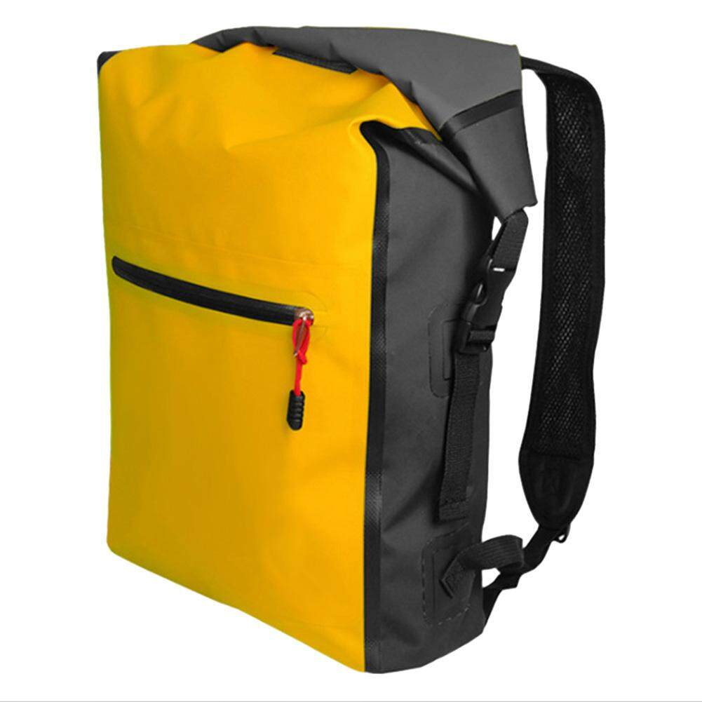 SaiDeng Outdoor Waterproof Backpack Beach Barrel Bag for Travelling  Swimming Outdoor Activities - intl d6568a7e22b35