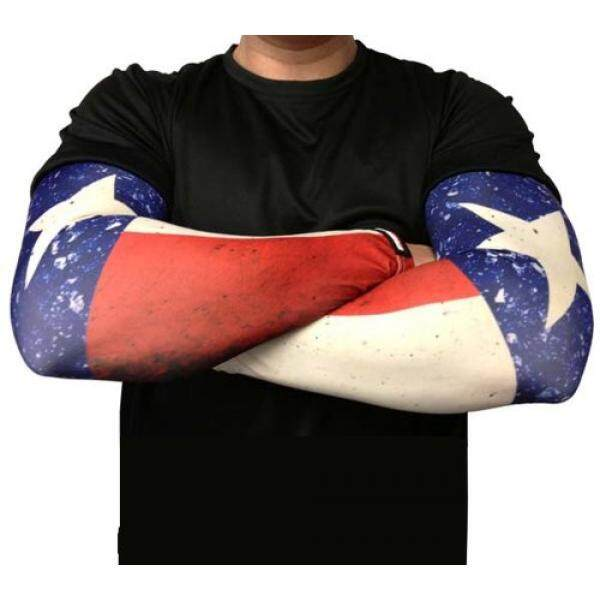 Missing Link SPF 50 Republic of Texas ArmPro Compression Sleeve - intl