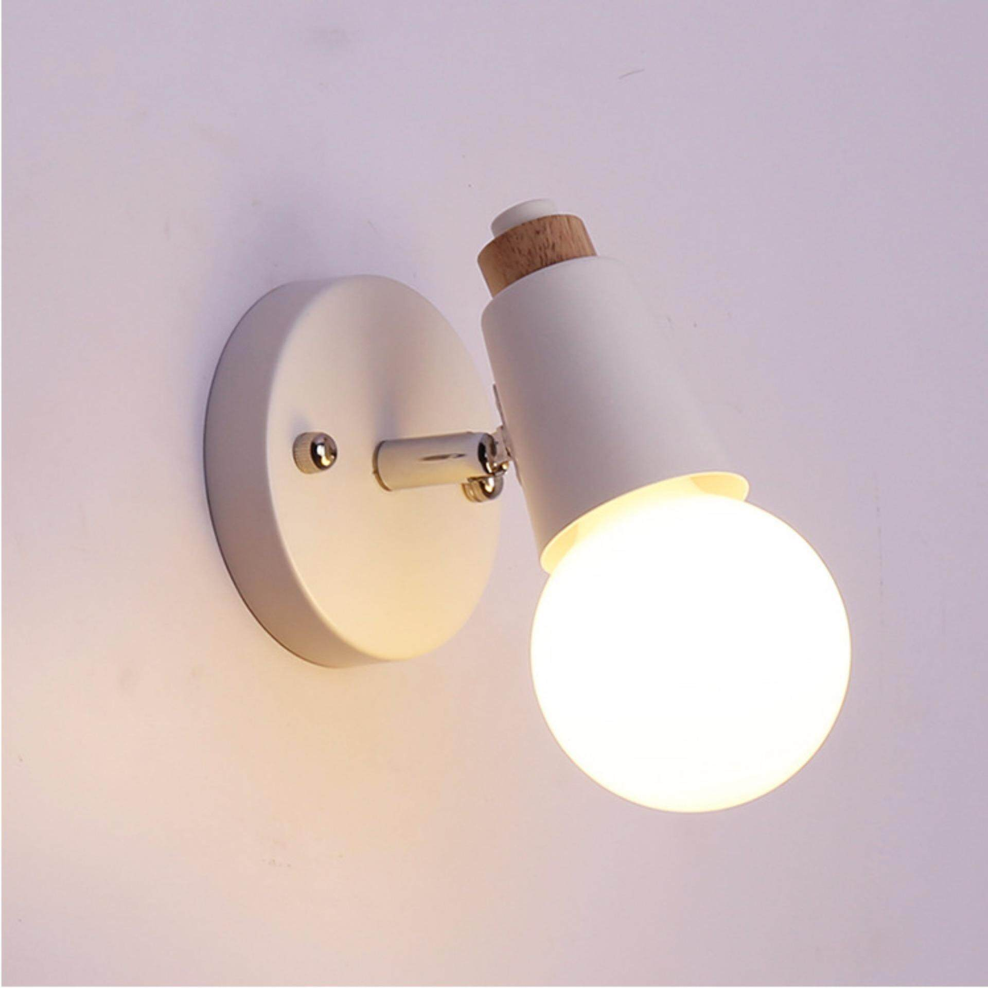 Catwalk Indoor Wall Light LED Modern Metal E27 Perfect Wall Lamp Decorative For Bedroom - intl