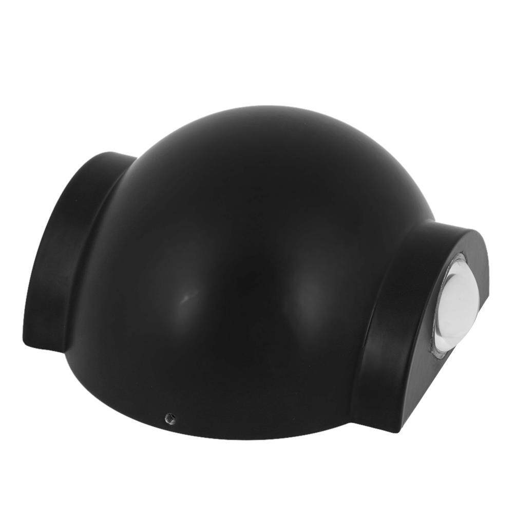 LED Wall Lamps with Switch Button Light Bedroom Interior Lighting Direction(Black)-C - intl