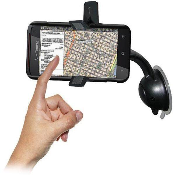 Amzer AMZ94270 Car Mount & Case System for HTC Droid Incredible 4G LTE ADR6410 - Mount - Retail Packaging - Black - intl