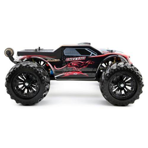 JLB 2.4G CHEETAH 4WD 1 / 10 80KM / H HIGH SPEED BUGGY RC RTR CAR (RED WITH BLACK) Toys for boys
