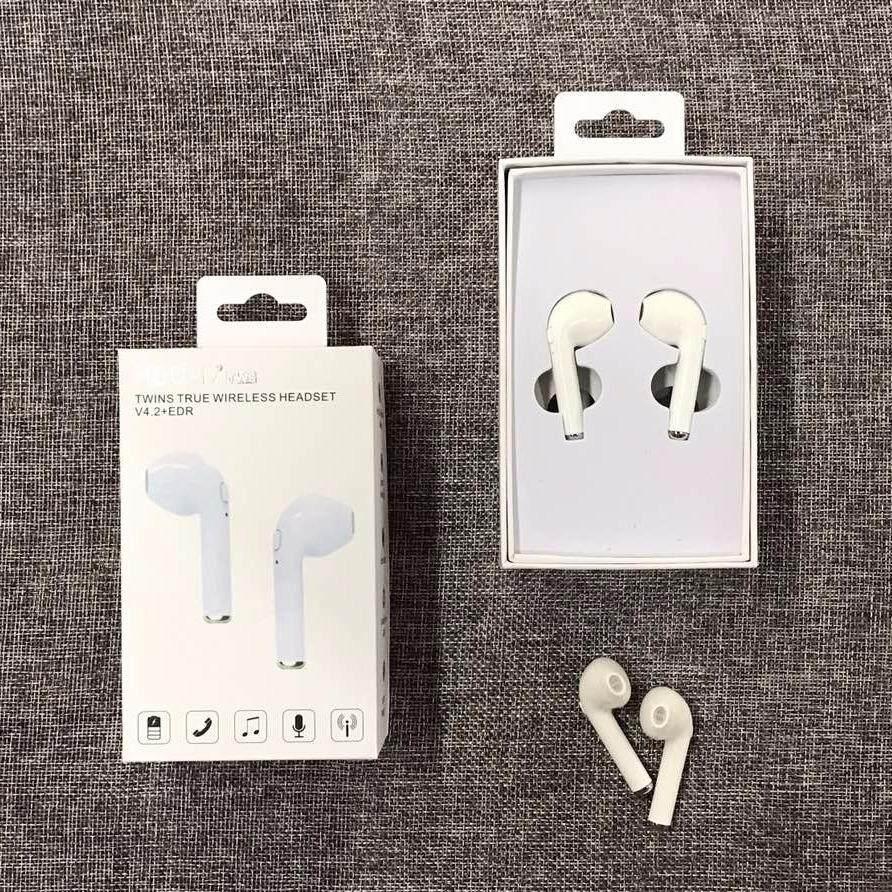 Cek Harga Hbq I7 Tws Twins Dual Lr Wireless Earbuds Mini Bluetooth Headset Sports V42 Iphone 7 Plus Oem True Der