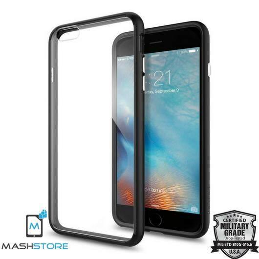 Original Spigen Ultra Hybrid Case for Apple iPhone 6 Plus / 6S Plus - Black