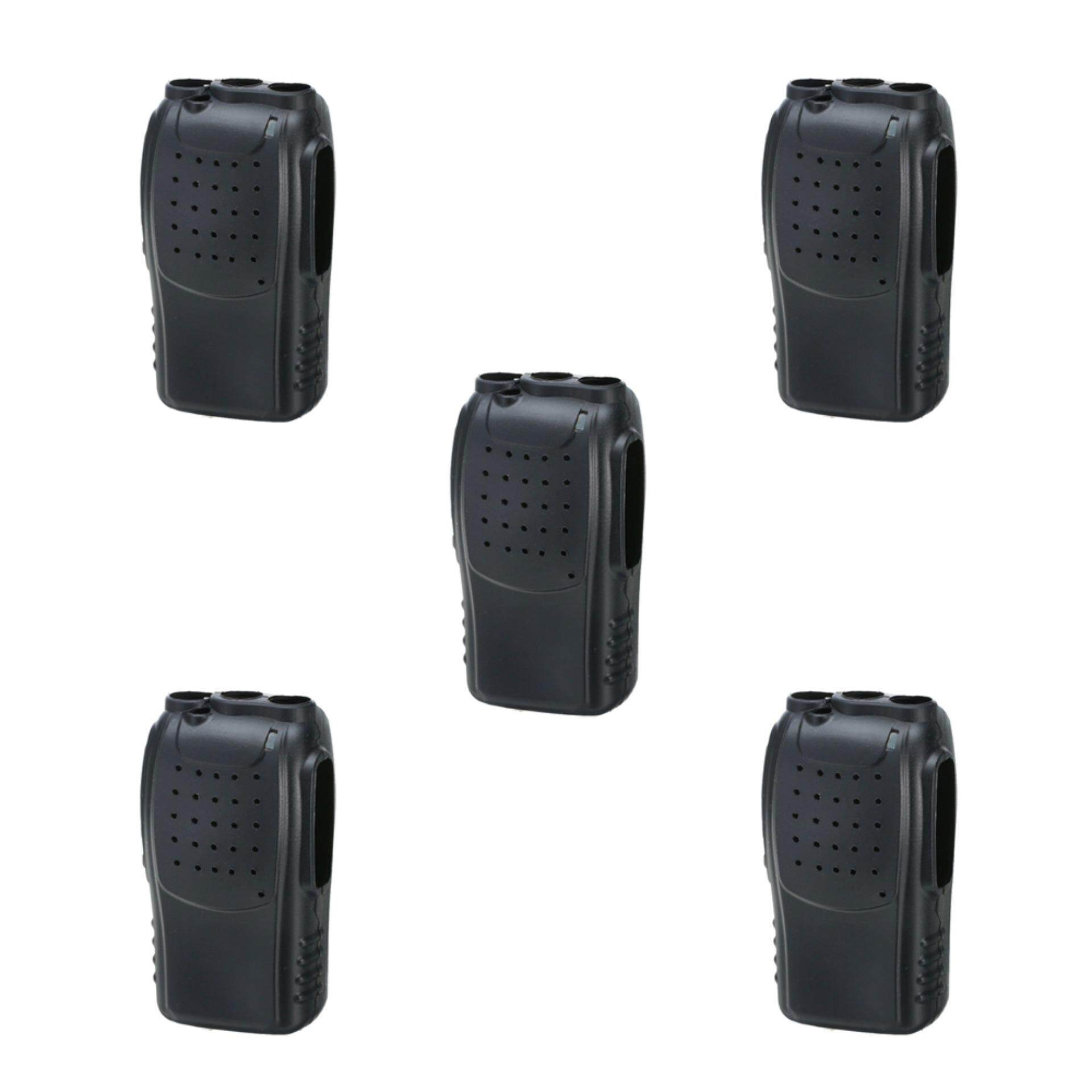Fitur Ht Handy Talky Walkie Talkie Spc Sh10 Setara Baofeng 888s Dan Uv5r Bf Dual Band Soft Silicone Protection Case X5pc