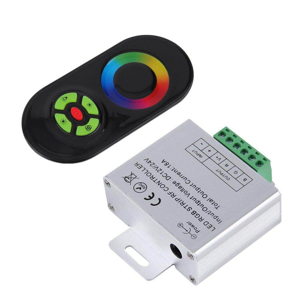 Promo Era Rf Touch Panel Wireless Remote Controller For Rgb Led Strip Light Dc 12V 24V Intl Di Tiongkok