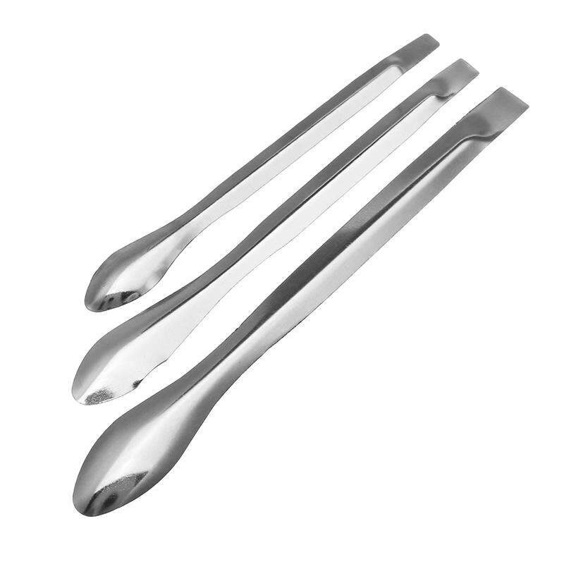 3pcs Stainless Steel Reagent Lab Sampling Spoon Laboratory Scoop Mixing Spatulas - Intl By Channy.