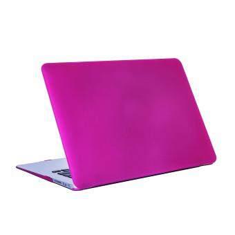 การส่งเสริม Matte Rubberized Hard Case Cover for Macbook ProLaptop Shell- Air 13 inch Purple red ซื้อที่ไหน - มีเพียง ฿206.00