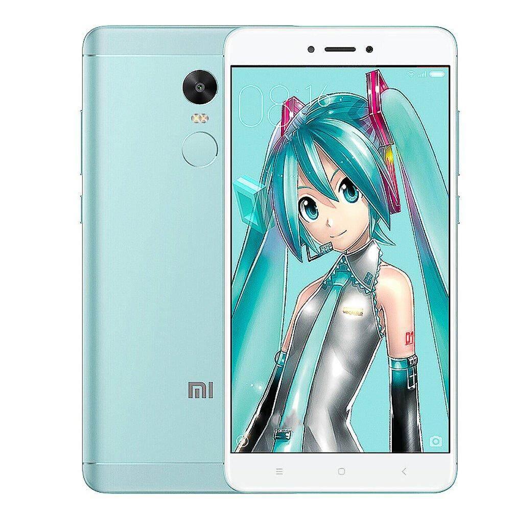 สอนใช้งาน  ตรัง Xiaomi Redmi หมายเหตุ 4X สมาร์ทโฟน 5.5 นิ้ว 1920x1080 P MIUI 8 ID ลายนิ้วมือ 13MP