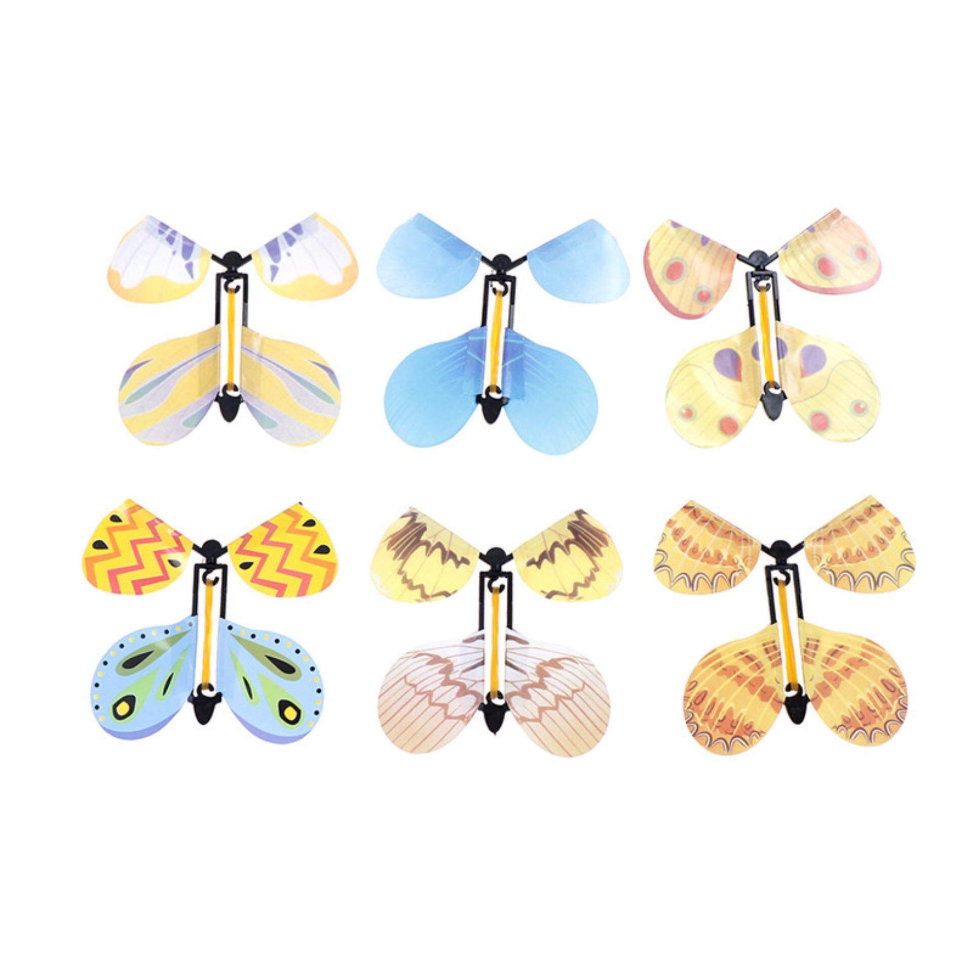 Hình ảnh Magic Plastic Transform Flying Butterfly Cocoon into a Butterfly Trick Prop Toys - intl