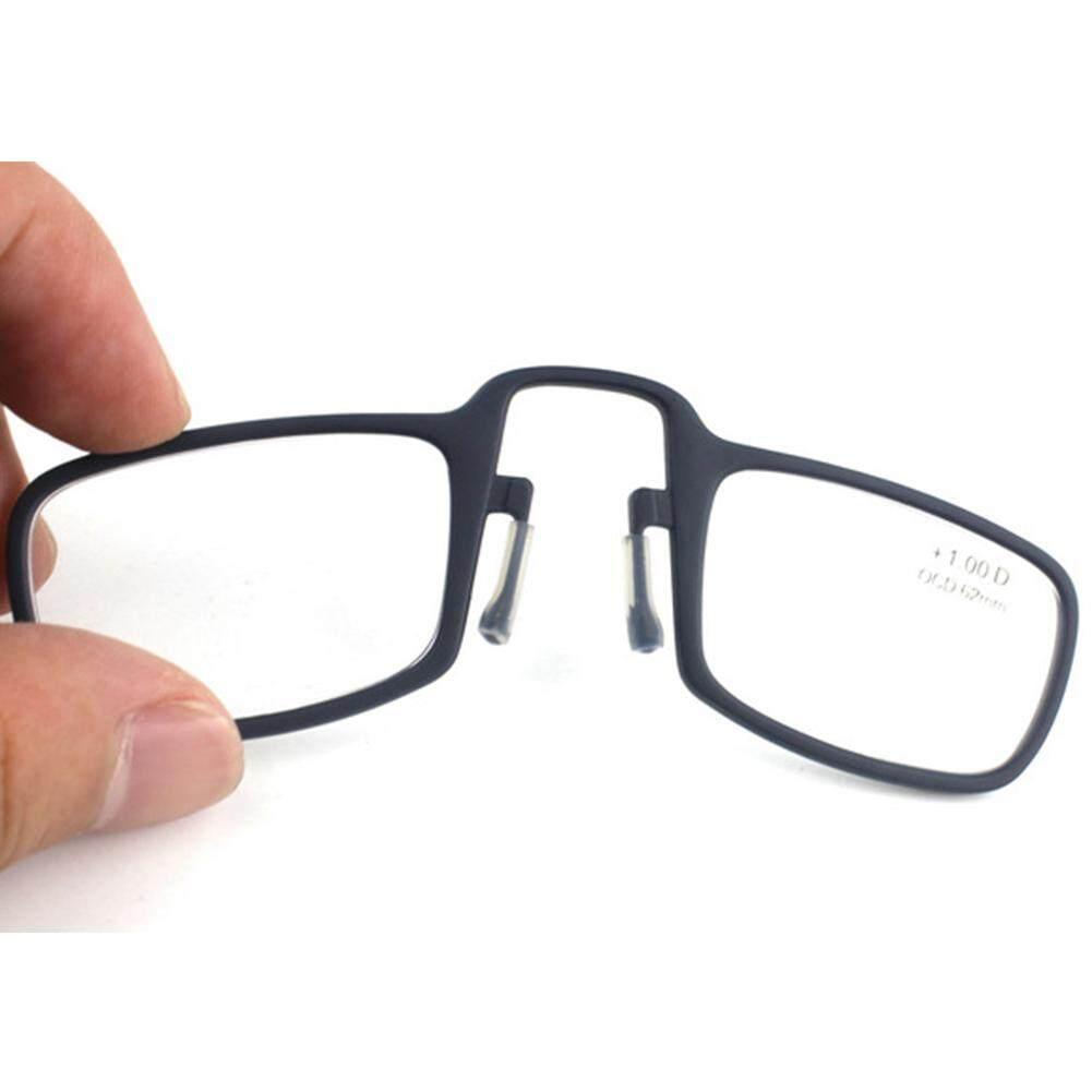 2018 Baru Kacamata Baca Ultralight Klip Pria atau Wanita Portabel Kacamata Baca (Derajat: +
