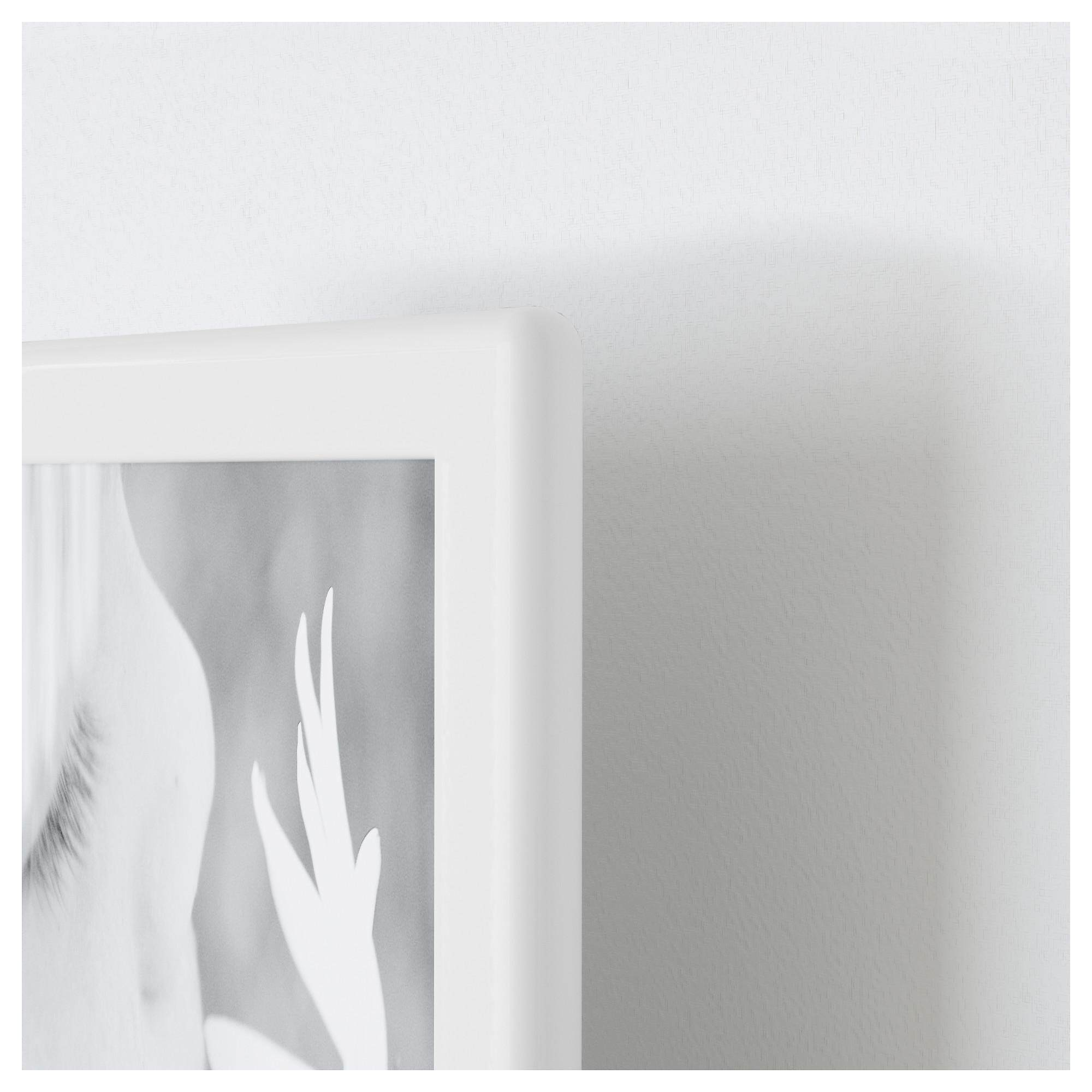 Ikea Tolsby Photo Frame Of 2 Picture (White)  3