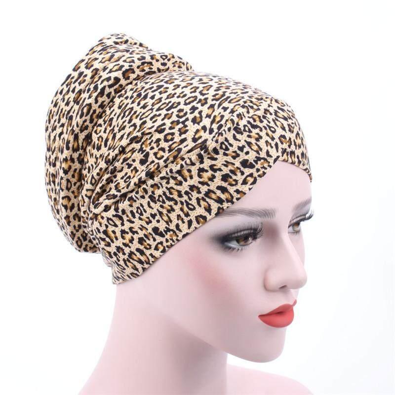 Brisky Woman Muslim Stretch Turban Hat Cap Head Wrap Scarf Chemotherapy Hijab Inner Cap