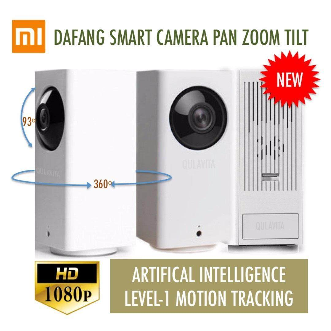2018 XiaoMi Da Fang 360 Degree Pan Tilt Zoom 1080P HD IP Camera Wifi CCTV Night Vision Version