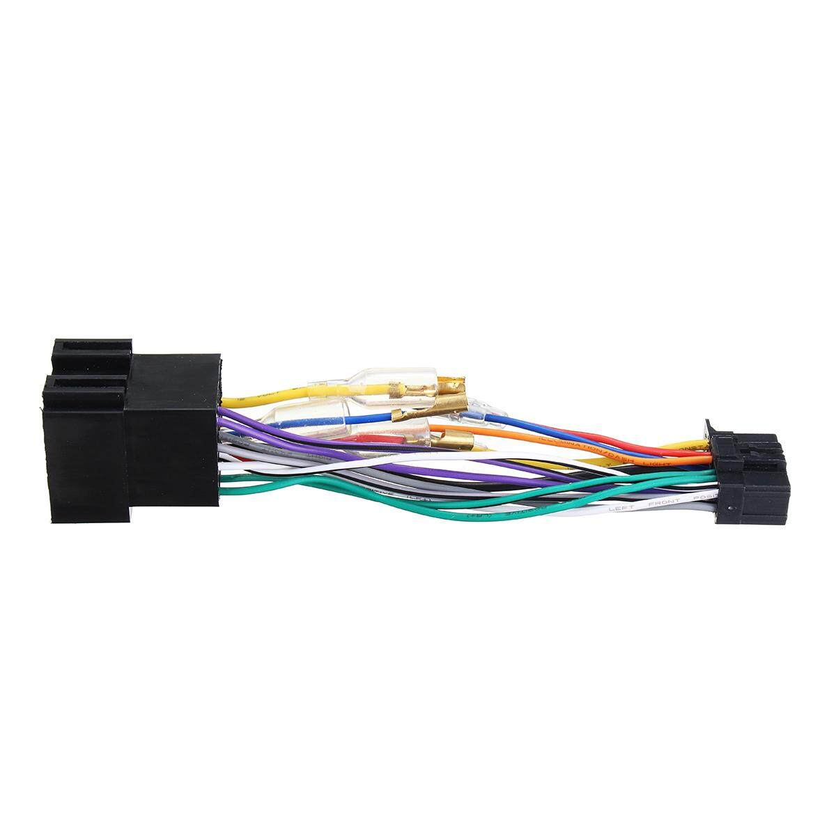Fitur For Pioneer 16 Pin Iso Wiring Harness Connector Adaptor Car Loom Adhesive Cloth Fabric Tape Stereo Radio Pi100 Intl