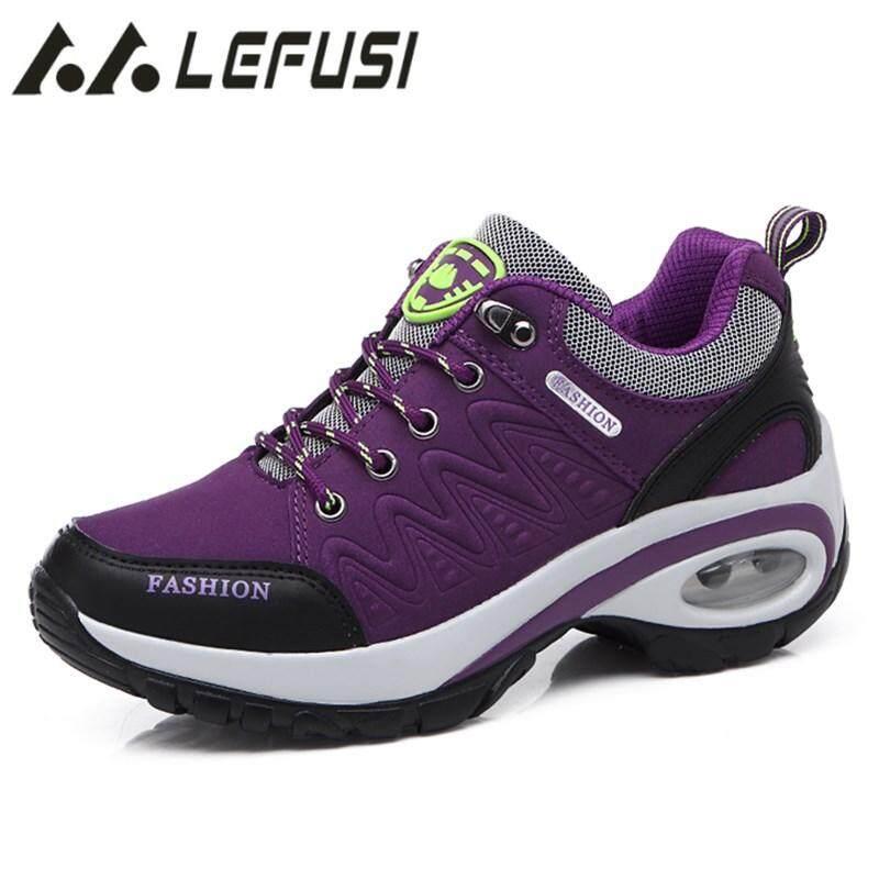 LEFUS Women Hiking Shoes Man Waterproof Mountain Climbing Trekking Shoes  Professional Breathable Outdoor Sneaker For Camping 200323ea2b
