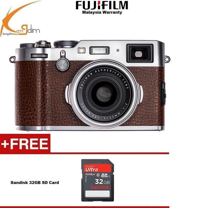 Fujifilm X100F Digital Camera (BROWN)FUJI MALAYSIA