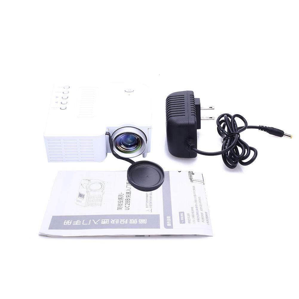 Hình ảnh UC28B Mini Di Động Rạp Hát Tại Nhà Máy Chiếu LED Hỗ Trợ Thẻ TF Phích Cắm US-intl
