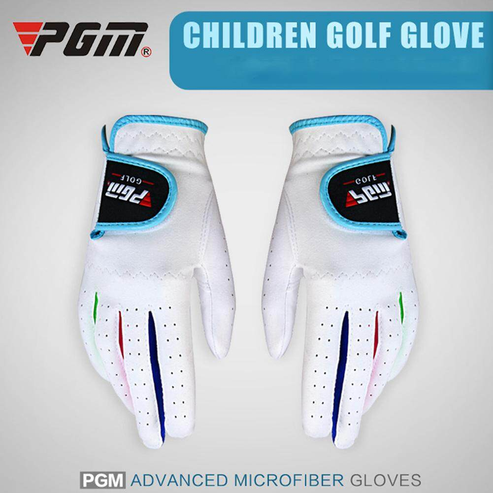 e8a548aaac060 1 pair of Kids Golf Gloves Left/Right Hand Anti-skid Glove For Outdoor