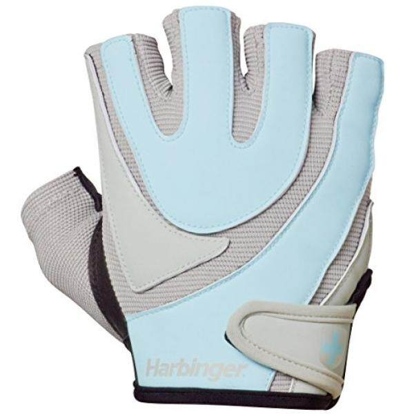 ALMM Harbinger Womens Training-Grip Weightlifting Gloves with TechGel-Padded Leather Palm (Pair) - intl