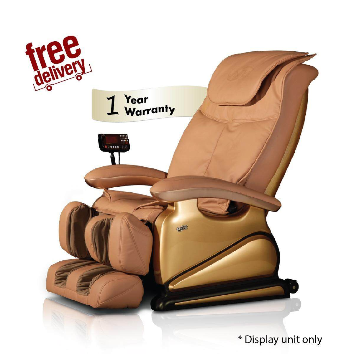 GINTELL G-Pro Gold Massage Chair (Showroom Unit)-Gold