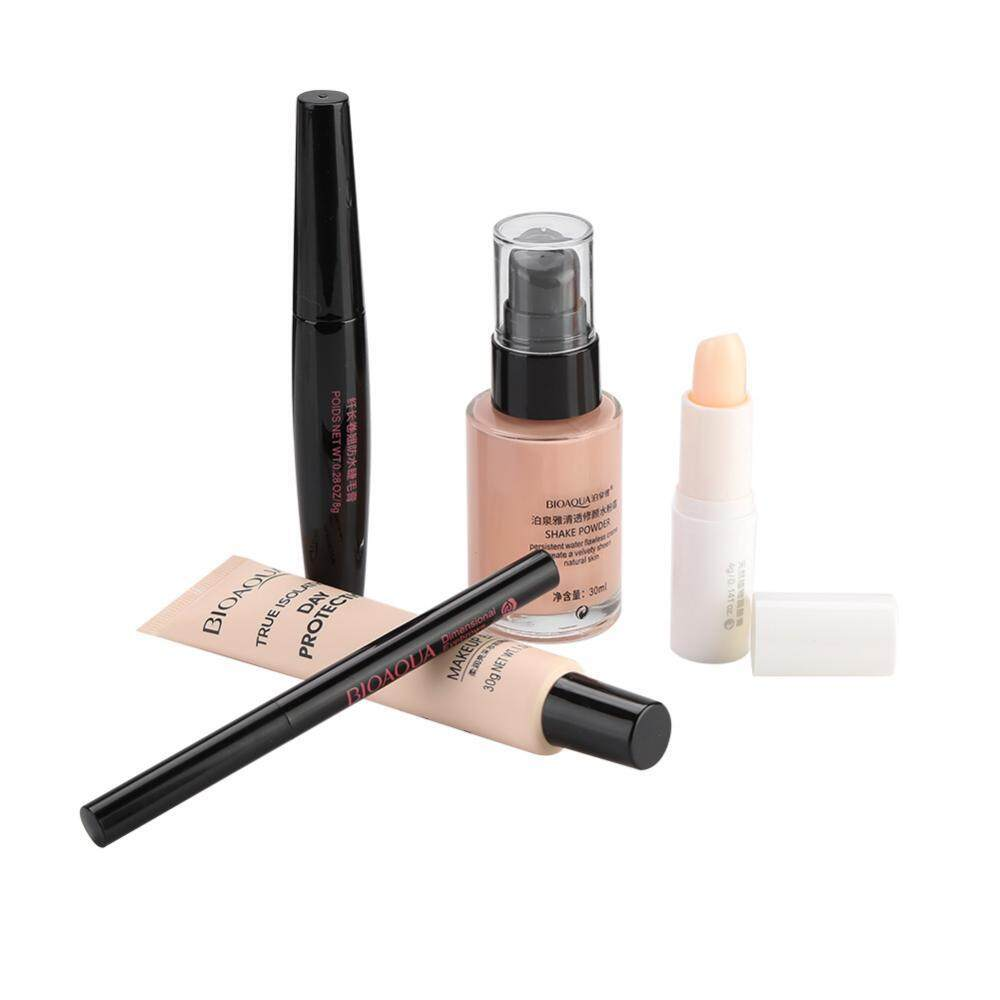 Cek Harga Baru Bioaqua Cosmetic Makeup Set For Beginner Lip Balm Bb Aloe Vera Cream Pencil Mascara Base Intl