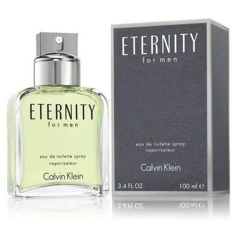 CK Eternity Men EDT 100ML Perfume High Quality GRED (BUY 2 FREE PERFUME)