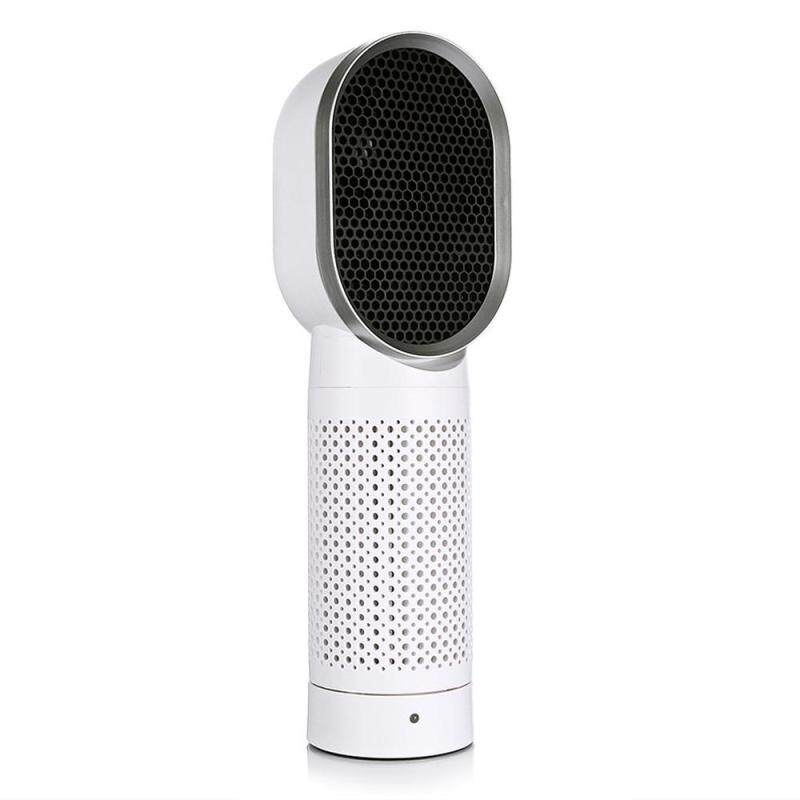 SOLLEN Ultra Quiet Air Purifier - Negative Ions Desktop Air Cleaner With HEPA Filter, Compact Odor Allergen Eliminator Cleaner For Home, Pets, Smokers, Cooking Singapore