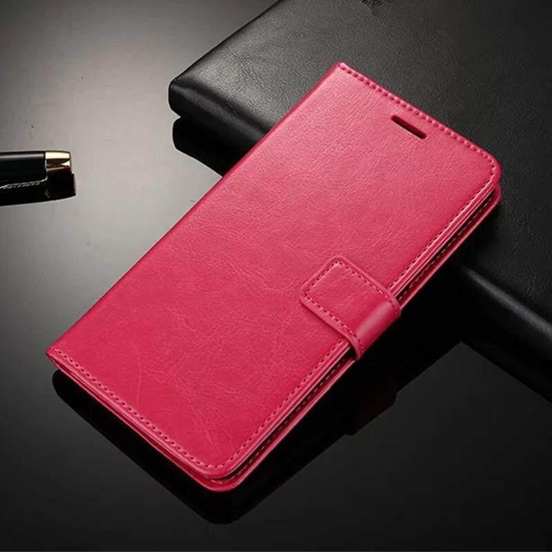 Dompet Case untuk Samsung Galaksi J7 2015 Lipat Kulit Sarung Mewah Bisnis dengan Penyangga Telepon Case untuk Samsung Galaksi J700F case Sarung-Internasional