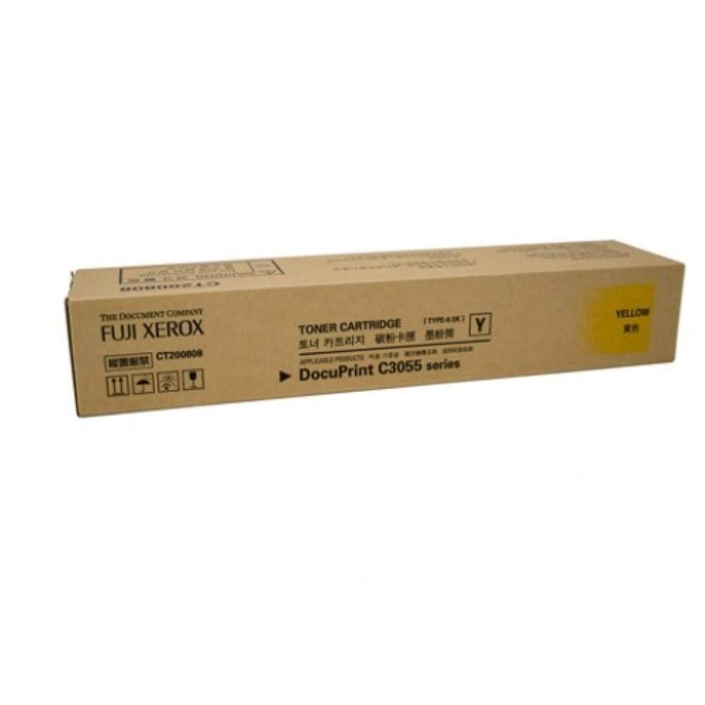 Xerox C3055DX Yellow Toner Cartridge (Item no: XER C3055DX YEL)